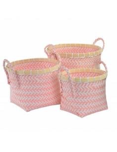 Set de 3 cestas de...