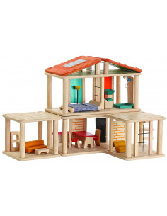 Casa Creativa de madera...