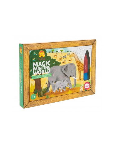Libro mágico para pintar Animales