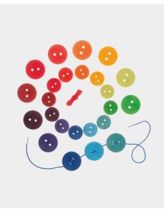 Botones grandes arco iris...