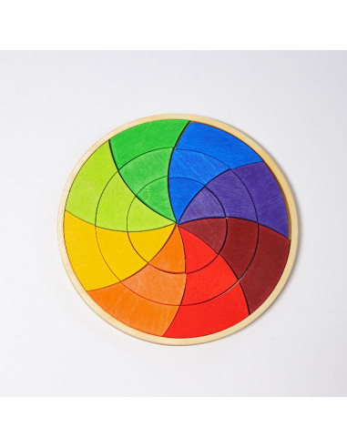 Grimms - Mandala pequeño de color Goethe
