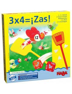 3 x 4 = ¡Zas! | Juegos de...
