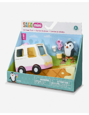 Carrito de helados pinguino
