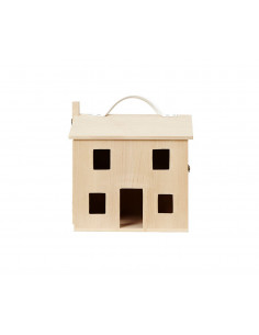 Casa de muñecas madera Olli...