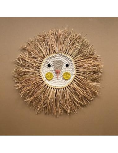 León de Crochet Lemon - Hecho a mano
