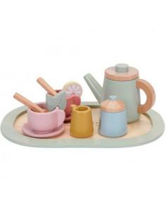 Set de té de madera de...