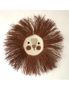 León de Crochet Pelo Tabaco...