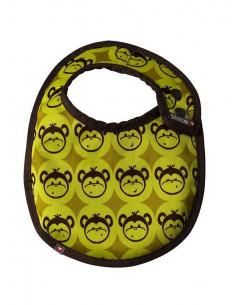 Babero monkey amarillo S