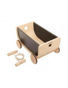 Vagón de madera sostenible...