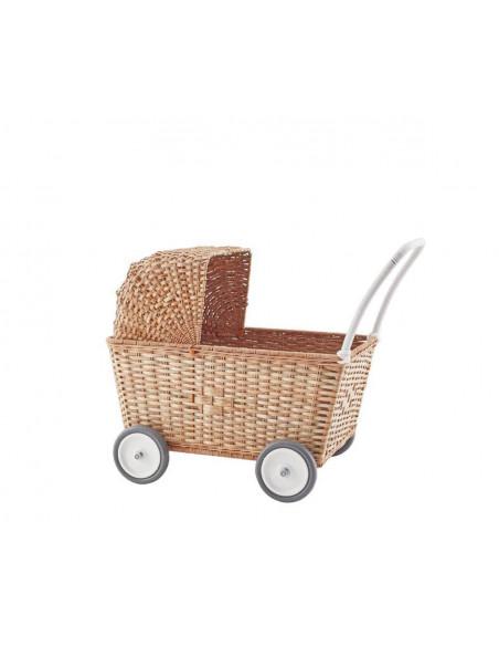 Cestos, carritos y cunas muñecas
