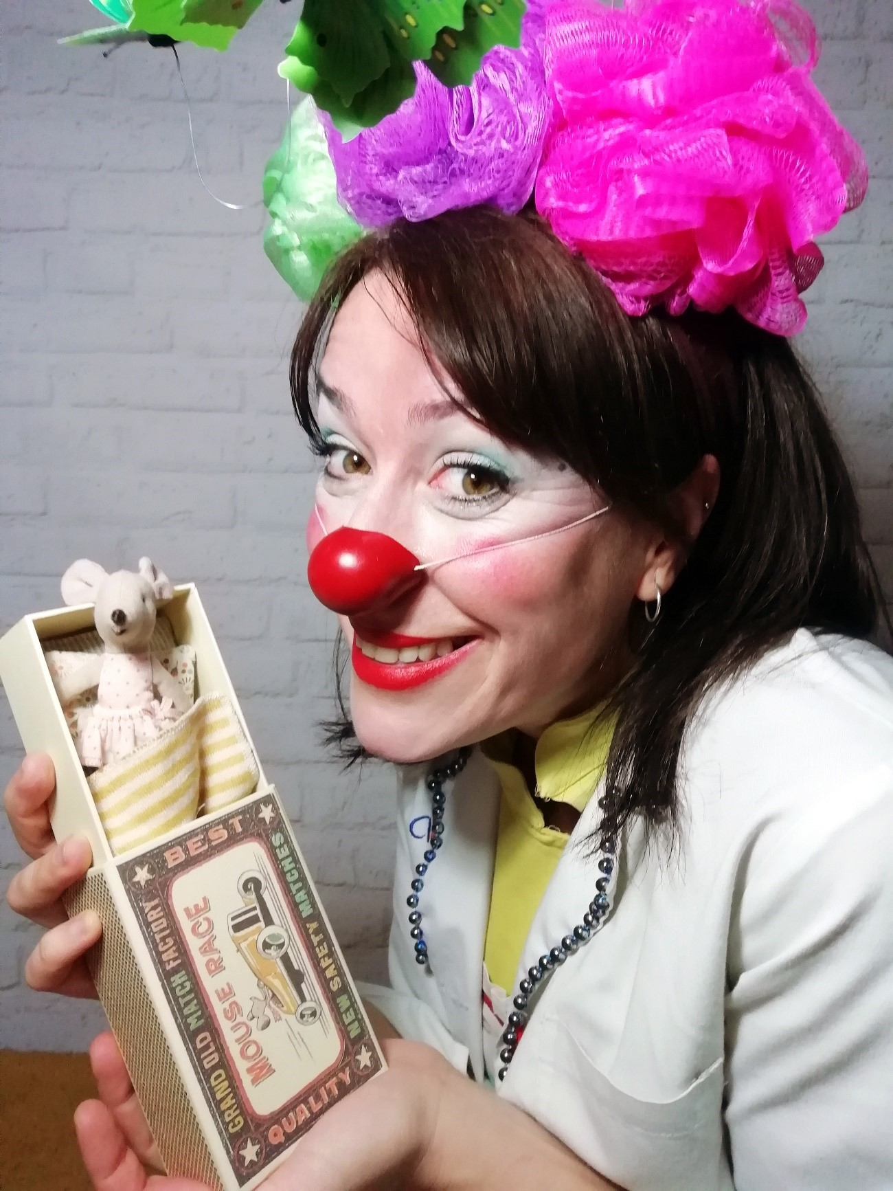 Pilar Hernandez clownrisas
