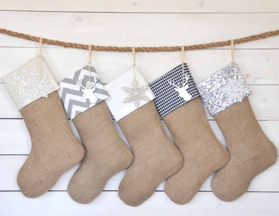 calcetines navidad para papa noel