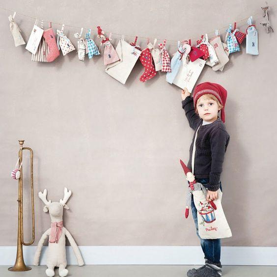 DIY: Calendarios de Adviento al estilo nórdico - La casa de Freja: