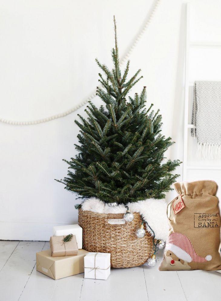 arbol de navidad nórdico