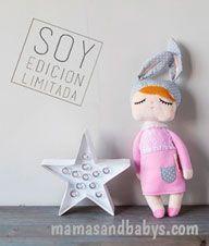 littlebunny  rosa edicion limitada muñeca de trapo