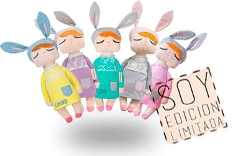 littlebunny muñeca de trapo decoración juguete regalo