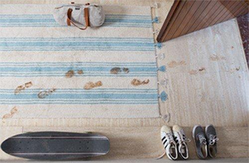 alfombra sucia