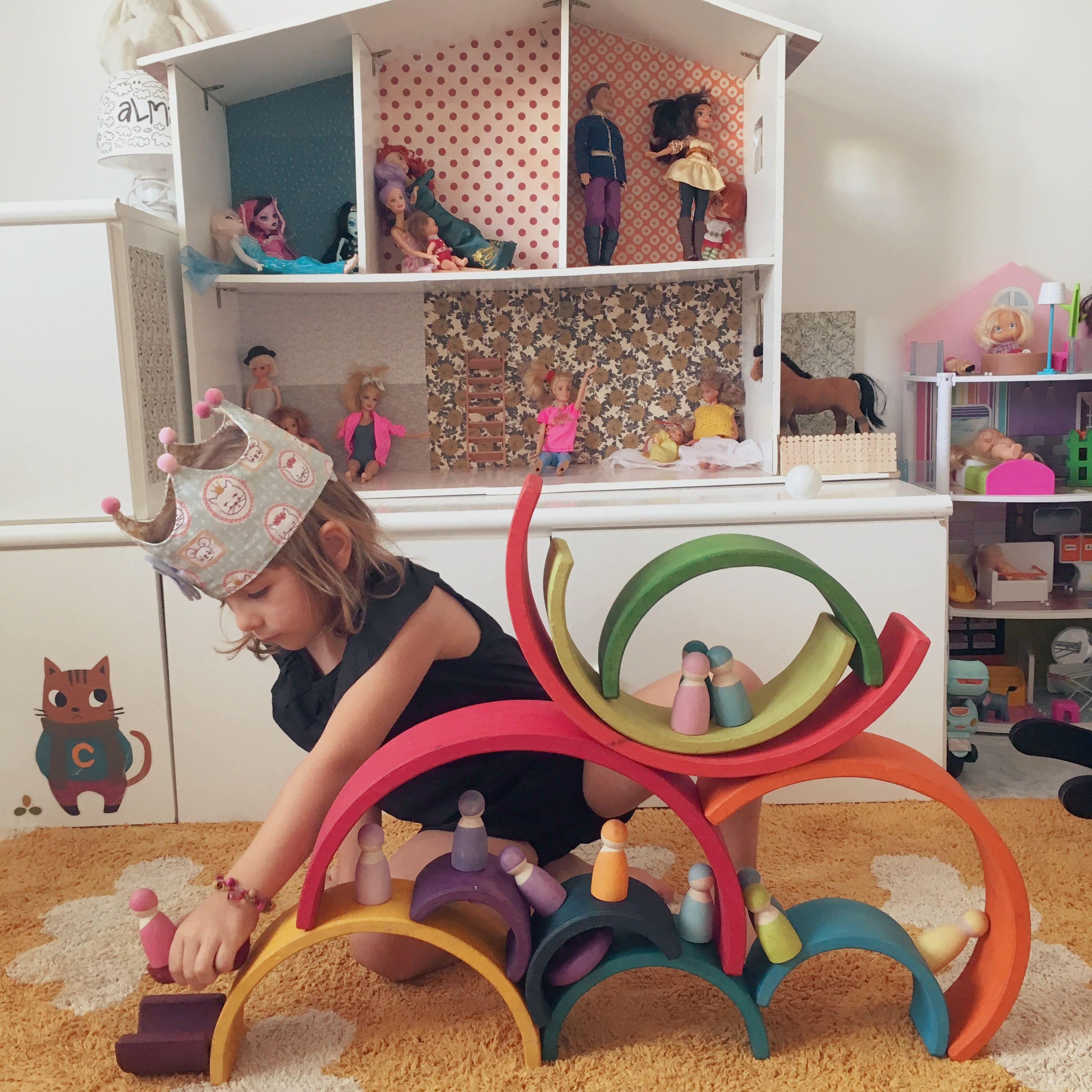 grimms regalo juguetes de madera