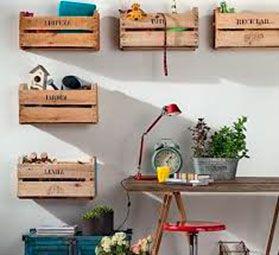 todo en orden con cajas recicladas