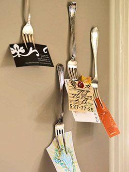 reciclar tenedores