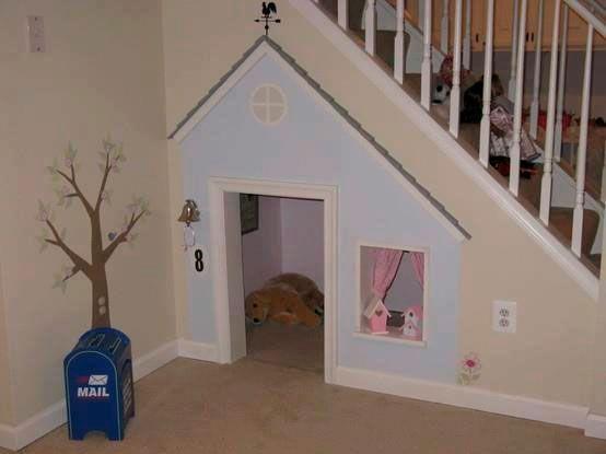 casita en escalera